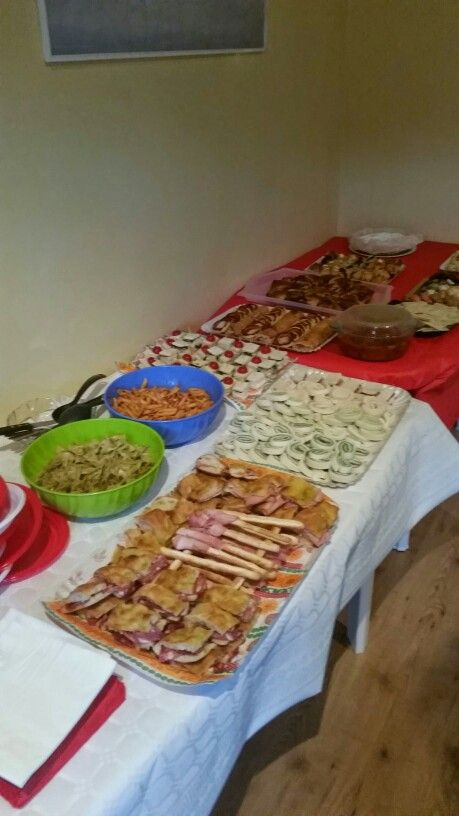 Buffet compleanno home made