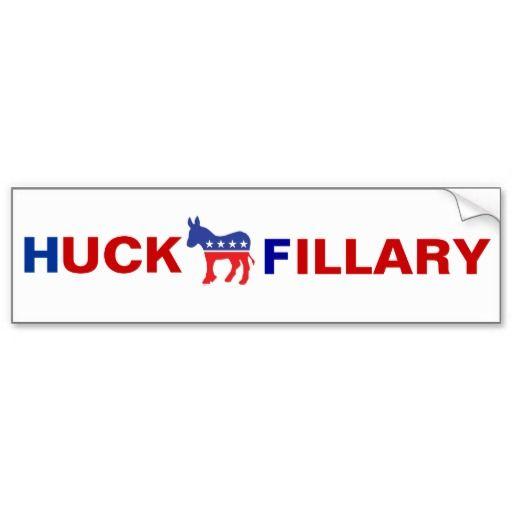 Anti Hillary Clinton Bumper Sticker