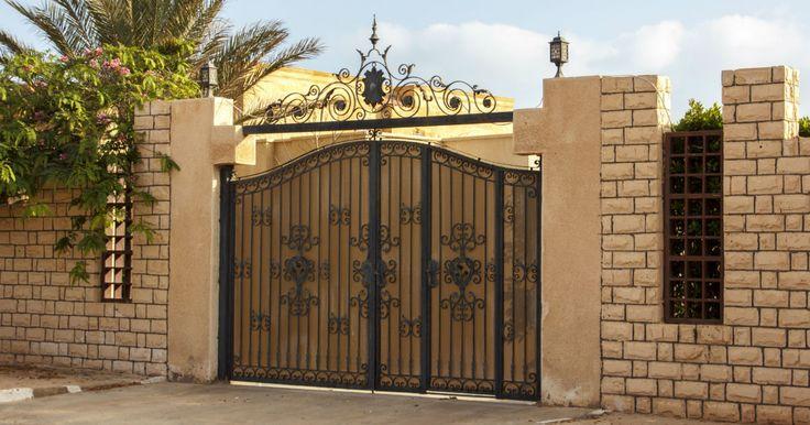 11 Best Steel Gates Images On Pinterest Door Entry