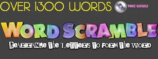 Unscramble The Jumbled Word In Word Jumble ! Word Scramble