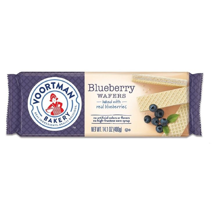 Voortman Blueberry Wafers - 14.1oz