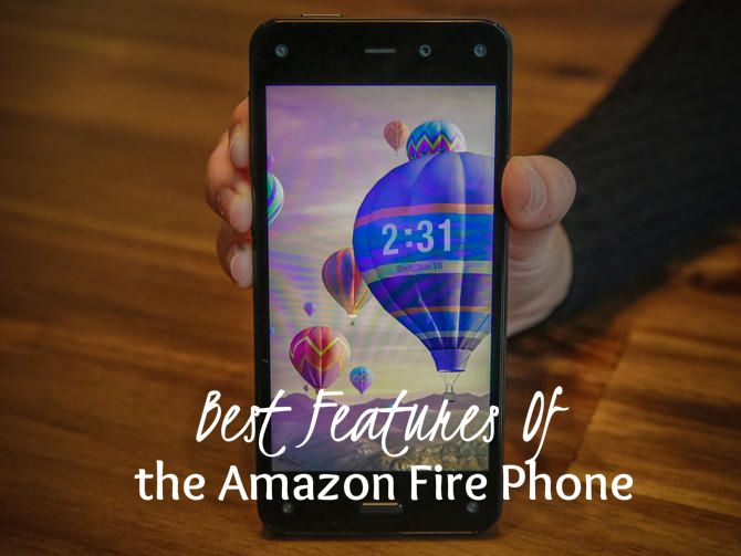 Five reasons to get excited about the Fire Phone, Amazon's 3D smartphone.