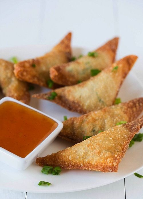 Healthy Appetizer: Baked Crab Rangoon Recipe