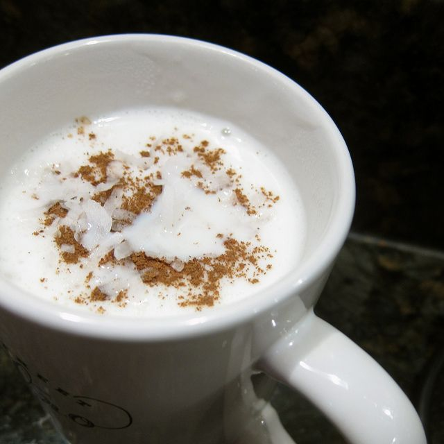 Salep: A hot, thick Turkish drink made from pounded orchid roots... and this is hopefully a resourceful knock-off...