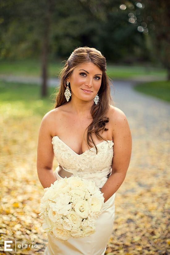 grey sash wedding gown, beading detail wedding gown, fall bride, half up wedding hair, fall wedding #fallwedding #brides #weddings