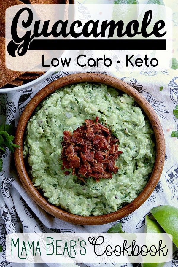Grab your low carb chips and crackers and get ready to indulge is avocado heaven with this easy and delicious Keto Guaca…