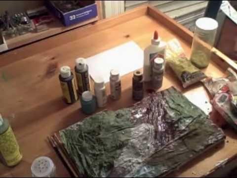 How to Make a Diorama - Part2 Adding the terrain