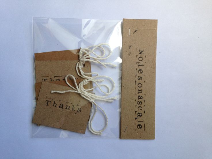 gift tags £1.95
