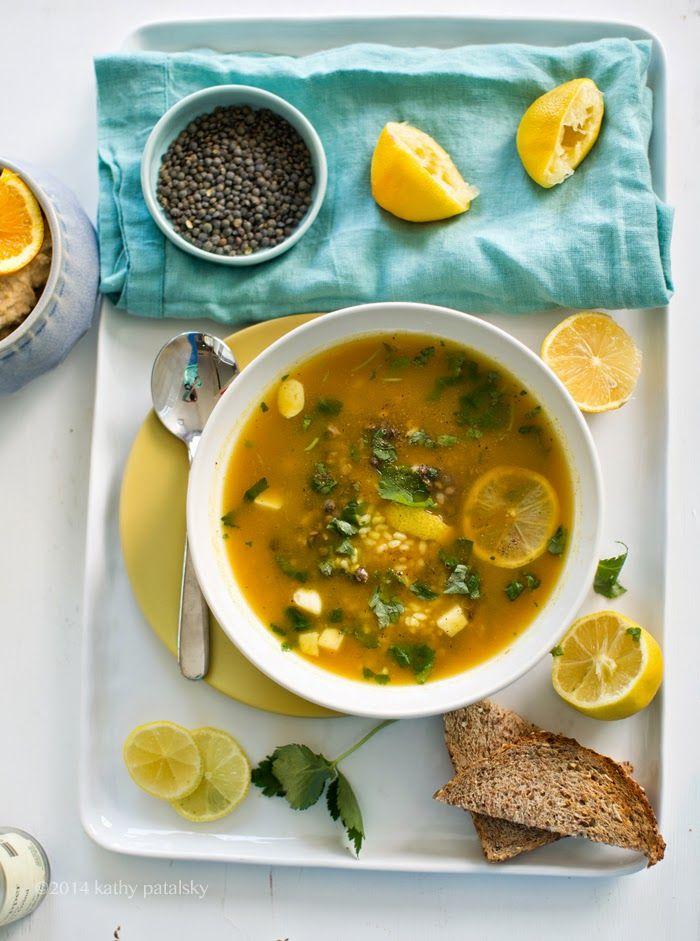 Lifting lentil, lemon & rice soup http://kblog.lunchboxbunch.com//2014/04/lifting-lemon-garlic-rice-lentil-soup.html