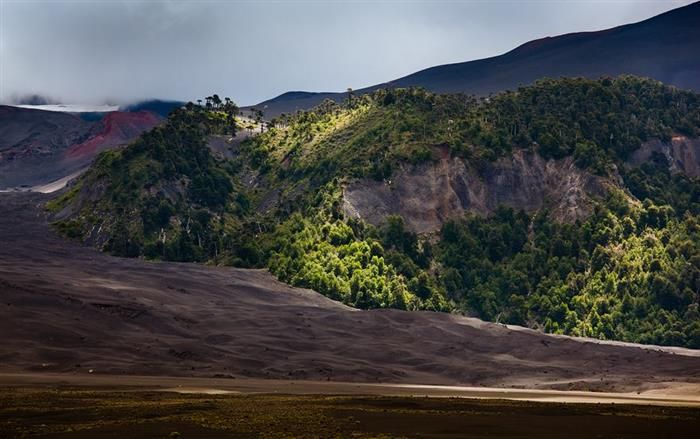 Melipeuco, Chile  Patagonia
