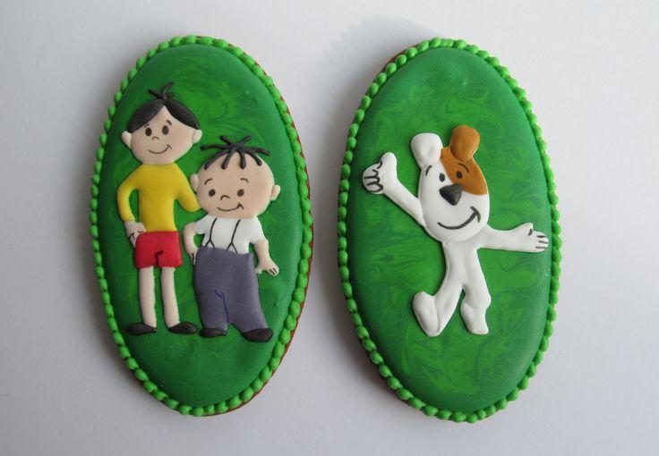 Bolek & Lolek, Reksio cookies - Dekoratornia Ciastek