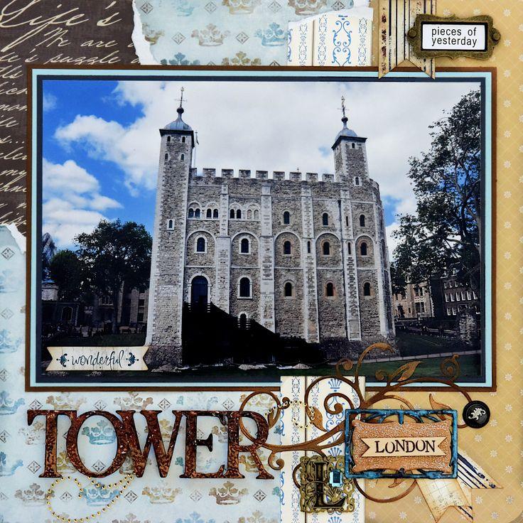 Tower of London - LEFT SIDE - Scrapbook.com