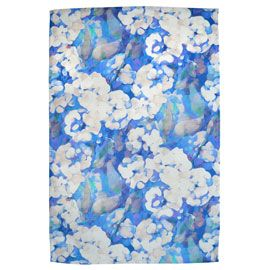 Imogen Heath Limited Edition Rosa Blue Tea Towel