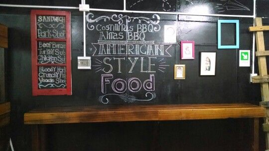 American style food