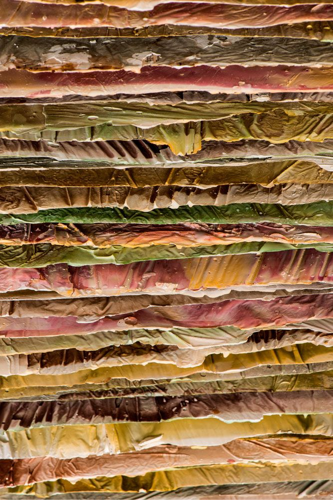 ROSE RIGLEY Exhibition - Letters to my Father; Work - Bacon for breakfast I (detail) 2014