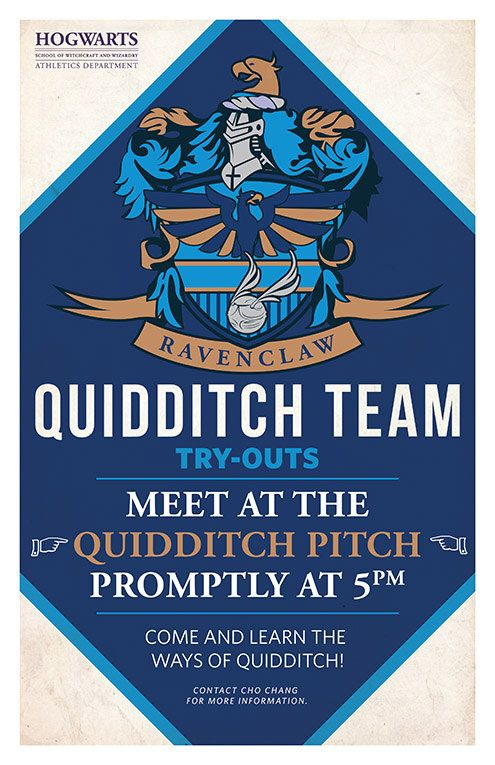 Quidditch Tryouts 4 pack