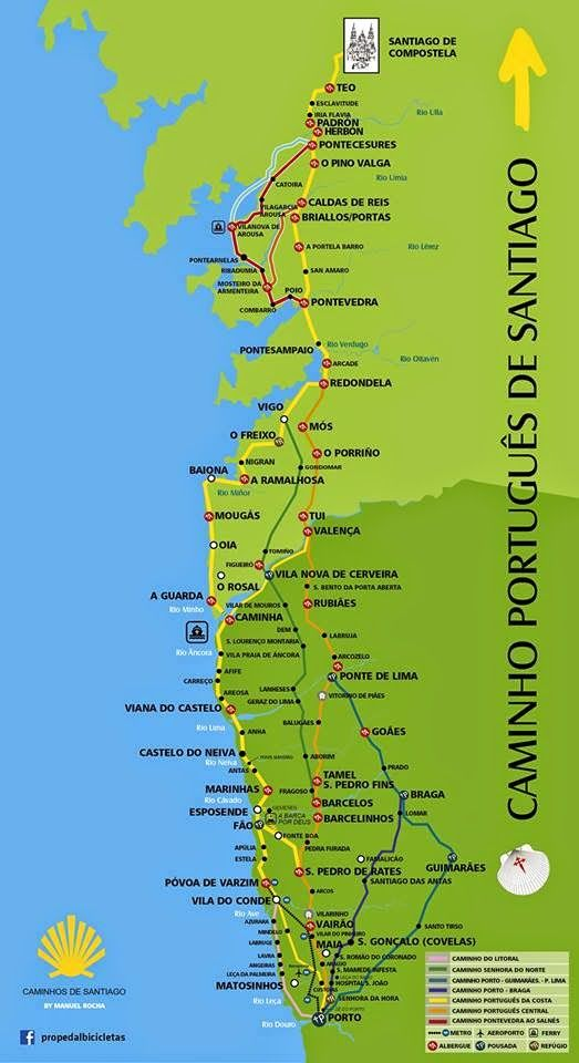:: Camino de Santiago :: Forum :: Camino portugalskie - nowości z trasy ::
