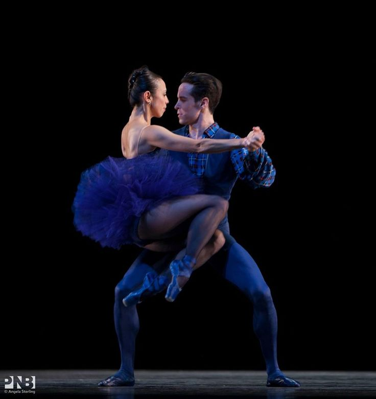 Pacific Northwest Ballet Kaori Nakamura & Sascha Radetsky in Brief Fling.