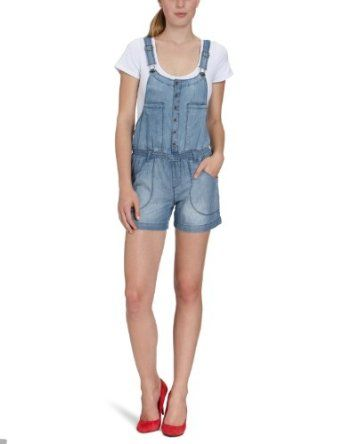 """ONLY ladies overall, 15066521 SHORT DENIM OVERALL Mirla special offers """"ladies dungarees"""