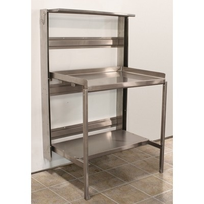Perfect for the bathroom! PVIFS Optional Caster Base for Retractable Prep Station $283.49