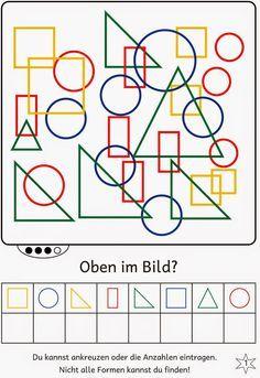 Lernstübchen: Formen im Bild finden (2)