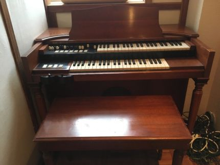 Hammond Organ / original / Modell: M3/Kirsch in Nordrhein-Westfalen - Solingen | Musikinstrumente und Zubehör gebraucht kaufen | eBay Kleinanzeigen