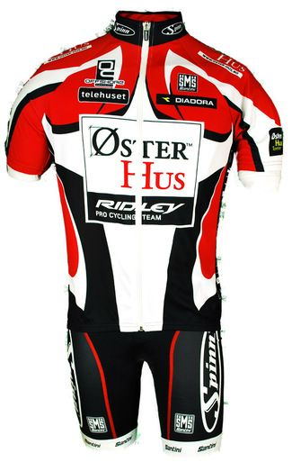 Oster Hus FZ Jersey Pro Team Cycling Jersey