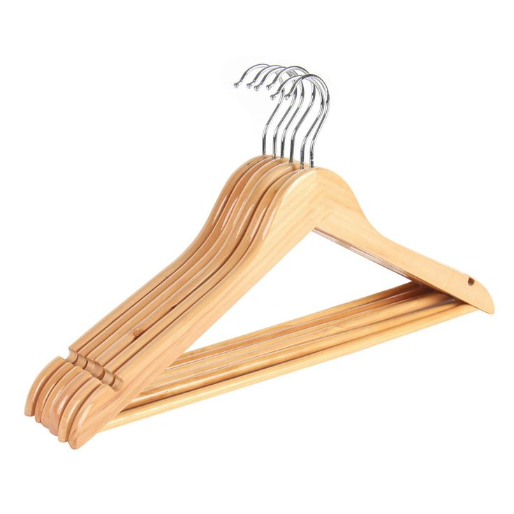 6-Pack Extra Wide Wood Clothes Hanger Coat Hanger Rounder Shoulder Suite Hanger for Closet Collection Natural Wood Collection - ICON2 Luxury Designer Fixures  6-Pack #Extra #Wide #Wood #Clothes #Hanger #Coat #Hanger #Rounder #Shoulder #Suite #Hanger #for #Closet #Collection #Natural #Wood #Collection