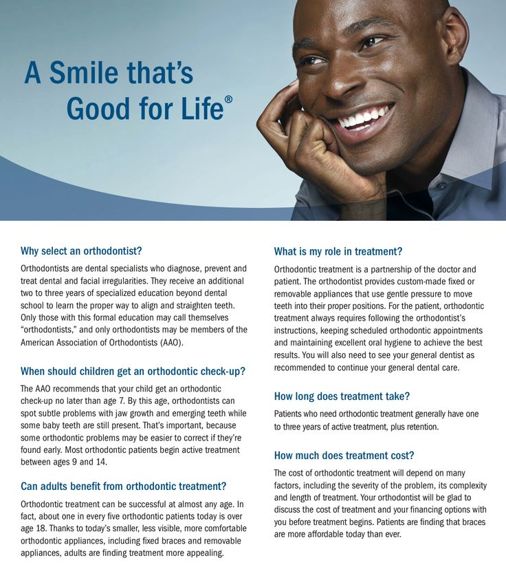 8 best why seek orthodontic treatment images on pinterest this is a snippet from the aaos all about orthodontics brochure available at solutioingenieria Gallery
