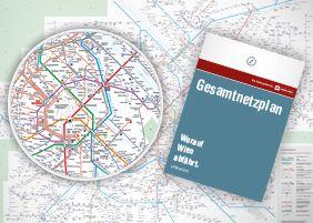 Wiener Linien Online Shop - Produkte: Map of Vienna Public Transport System