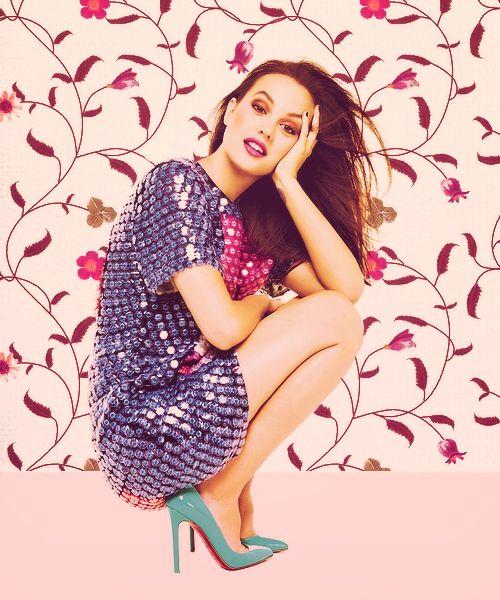 Leighton Meester | for Glamour Italia