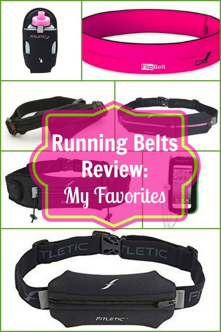 Running Belts Review: My Favorites