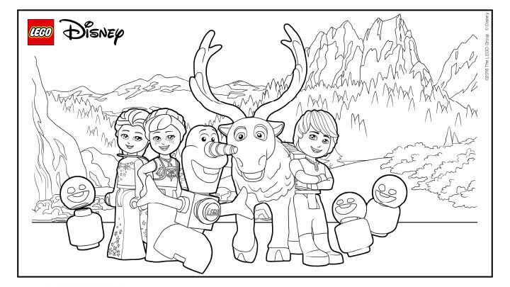 Frozen Lego Coloring Page Lego Coloring Pages Lego Movie Coloring Pages Frozen Coloring Pages