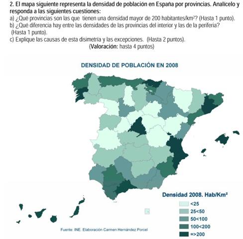 2010. Densidad de población.