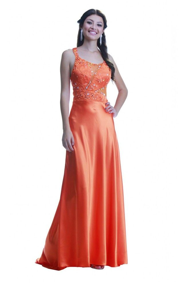 1000  ideas about Orange Prom Dresses on Pinterest | Prom, Mac ...