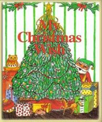 My Christmas Wish Personalised Story Book.