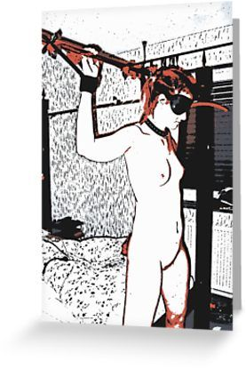Slave redhead girl in room by piciareiss - Also Available as T-Shirts & Hoodies, Men's Apparels, Women's #Apparels, Stickers, iPhone Cases, Samsung Galaxy Cases, Posters, Home Decors, Tote Bags, Pouches, Prints, Cards, Mini Skirts, Scarves, iPad Cases, Laptop Skins, Drawstring Bags, Laptop Sleeves, and Stationeries #art #kinky #naughty #sexy #hot #dirty #redbubble #postcards #collectibles