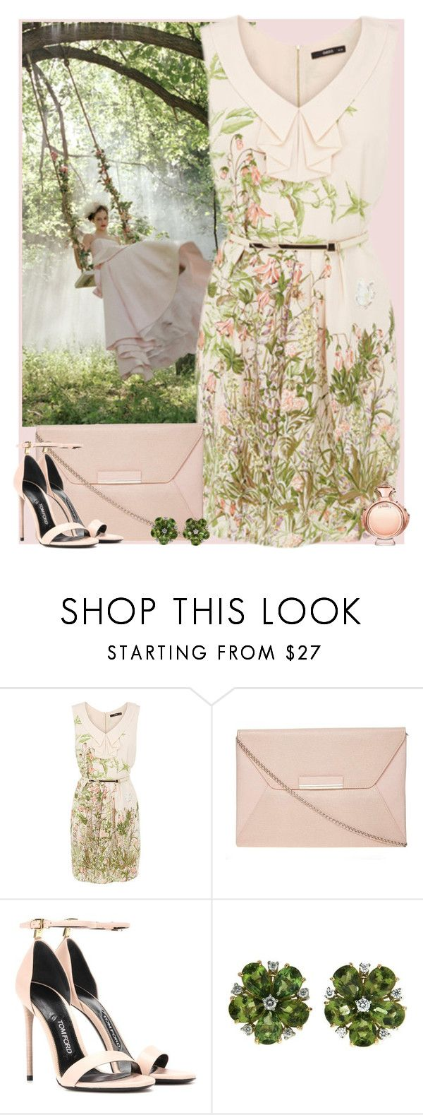 """""""Bez naslova #3038"""" by gita016 ❤ liked on Polyvore featuring Dorothy Perkins, Tom Ford, Valentin Magro and Paco Rabanne"""