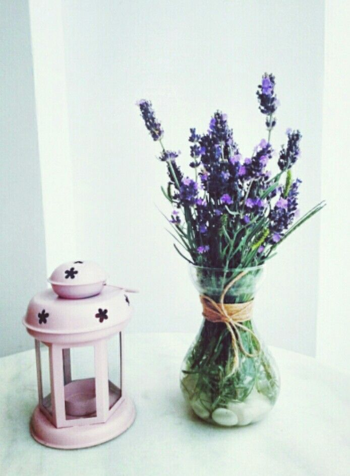 Deco with lavender