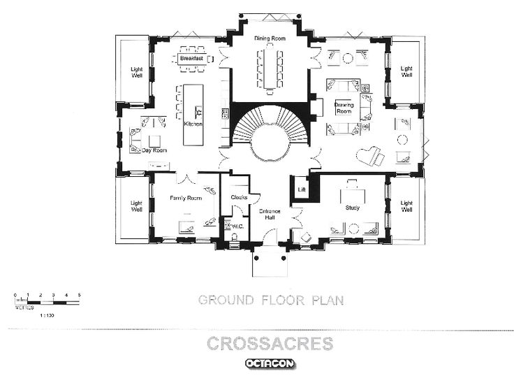 Location North Drive Surrey England Uk Square Footage 15 000 Bedrooms Mansion Floor Plan House Plans Mansion Vintage House Plans England house floor plan