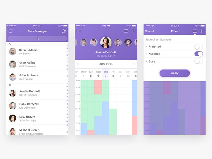 Task Manager App by Alina Shipulina