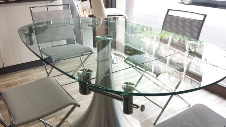 Tavolo Cristallo In Vetro.Tavolo Vetro Allungabile Ikea Unico Tavoli In Cristallo Allu