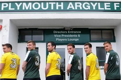Three sponsors Plymouth Argyle fans ahead of Hartlepool away game - They are giving supporters the chance to contribute to the pre-match team talk via Twitter. Through the hashtag #ThreeTalk fans can give pep talk or tactical advice to the football team which will be read pre match. Plymouth fans also get the chance to 'stay connected' during the journey to the game, with all official coaches equipped with WiFi.