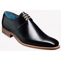 Barker Shoe Style: Kurt - Black Calf / Natural Edges
