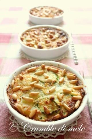 Tortino patate, zucchine e prosciutto