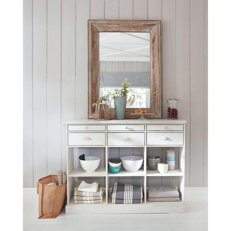 17 mejores ideas sobre espejo de madera en pinterest espejos muebles de madera y tronco de madera - Le monde muebles ...