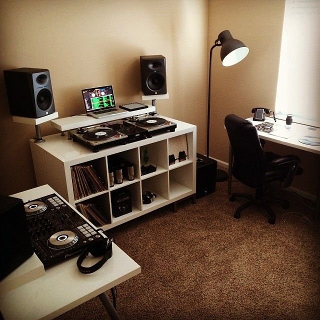 Best DIY Dj Booth Images On Pinterest Dj Booth Dj Table And - Cheap diy ikea home studio desk