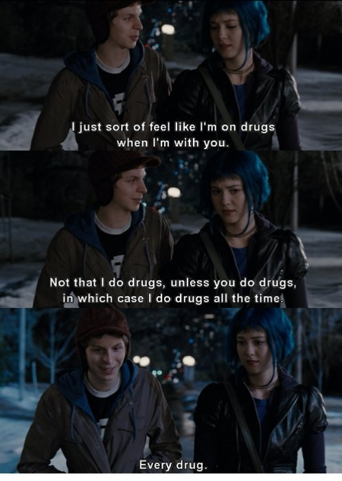 Scott Pilgrim VS. The World, 2010.