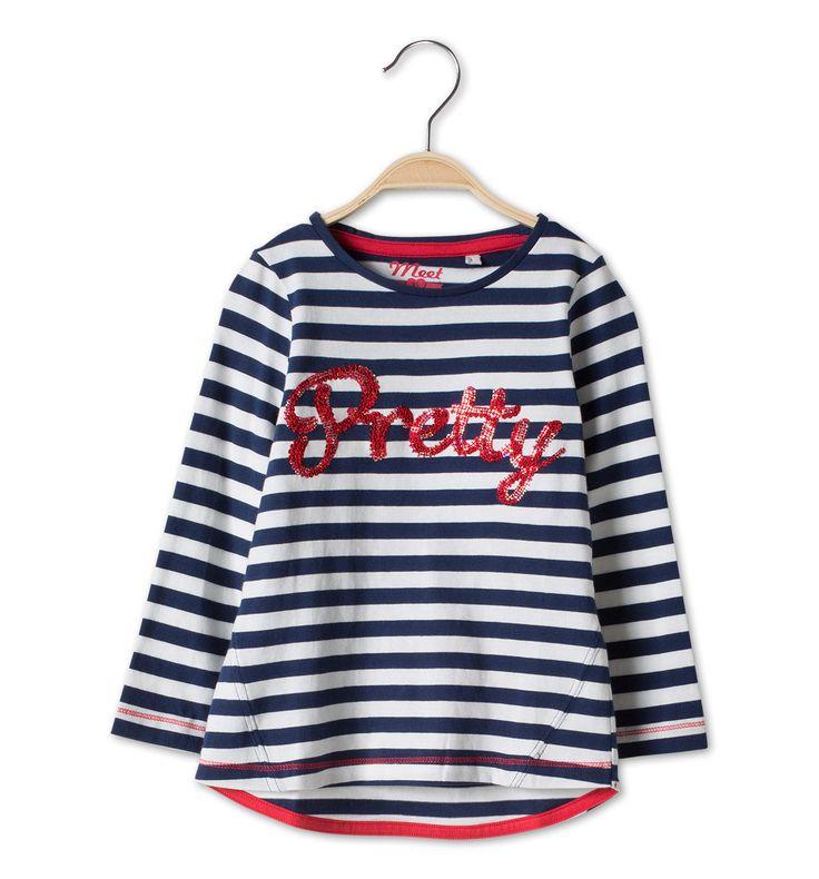 Sklep internetowy C&A | T-shirt, kolor:  niebieski / biały | Dobra jakość w niskiej cenie