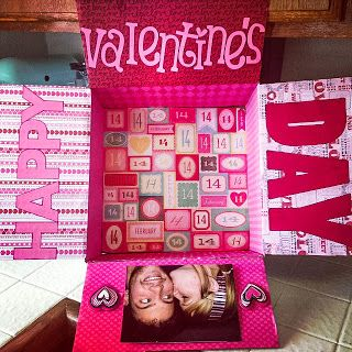 Military Deployment Care Package Idea: Valentine's Day